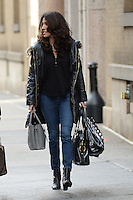 www.acepixs.com<br /> January 12, 2017 New York City<br /> <br /> Lynda Lopez seen walking past The View on January 12, 2017 in New York City.<br /> <br /> Credit: Kristin Callahan/ACE Pictures<br /> <br /> <br /> Tel: (646) 769 0430<br /> e-mail: info@acepixs.com