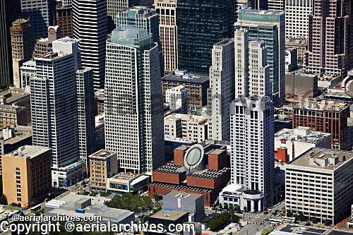 aerial view of San Francisco, CA