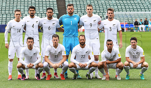 12.11.2016. Auckland, New Zealand.  NZ Team photo. New Zealand All Whites versus New Caledonia. Oceania Football Confederation stage 3 qualifier match for the FIFA World Cup in Russia 2018. QBE Stadium, Auckland, New Zealand.