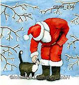 Kate, CHRISTMAS SANTA, SNOWMAN, WEIHNACHTSMÄNNER, SCHNEEMÄNNER, PAPÁ NOEL, MUÑECOS DE NIEVE, paintings+++++Christmas page 38 1,GBKM150,#x#