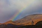 Rainbows are numerous when the conditions are right in the Scottish Highlands.