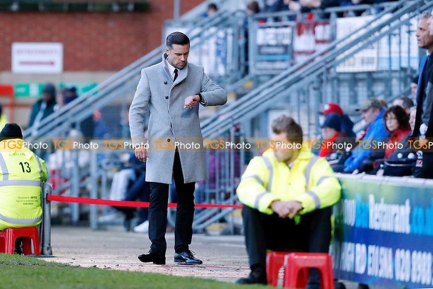 O's new manager Danny Webb during Leyton Orient vs Carlisle United, Sky Bet EFL League 2 Football at the Matchroom Stadium on 4th February 2017