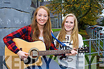 Glenflesk girls Jennifer Murphy left and Ellen Cronin who have been selected for the final of the Young Artist Development Award for their song writing
