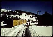 Cumbres station<br /> D&amp;RGW  Cumbres, CO