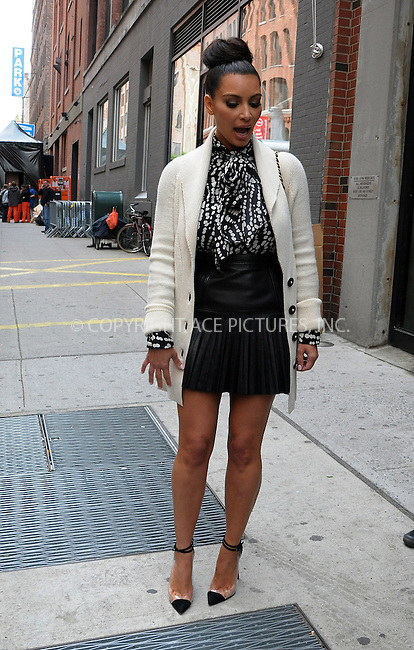 WWW.ACEPIXS.COM . . . . .  ....April 24 2012, New York City....Kim Kardashian out in the Meatpacking District on April 24 2012 in New York City....Please byline: CURTIS MEANS - ACE PICTURES.... *** ***..Ace Pictures, Inc:  ..Philip Vaughan (212) 243-8787 or (646) 769 0430..e-mail: info@acepixs.com..web: http://www.acepixs.com