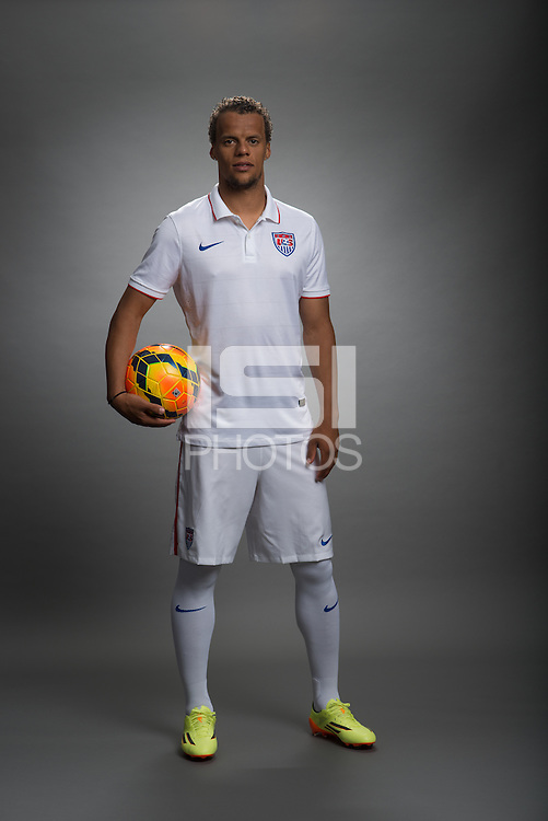 Stanford, California - Friday, May 16, 2014: USMNT feature portraits 2014.