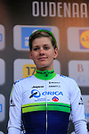 Emma Johansson (SWE) Orica-AIS finishes in 3rd place at the end of the 2014 Women's Tour of Flanders, Oudenaarde, Belgium.<br /> Picture: Eoin Clarke www.newsfile.ie