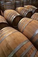 Europe/France/Poitou-Charentes/16/Charente/Cognac/Tonnellerie Seguin Moreau: Détail barrique<br /> PHOTO D'ARCHIVES // ARCHIVAL IMAGES<br /> FRANCE 1990