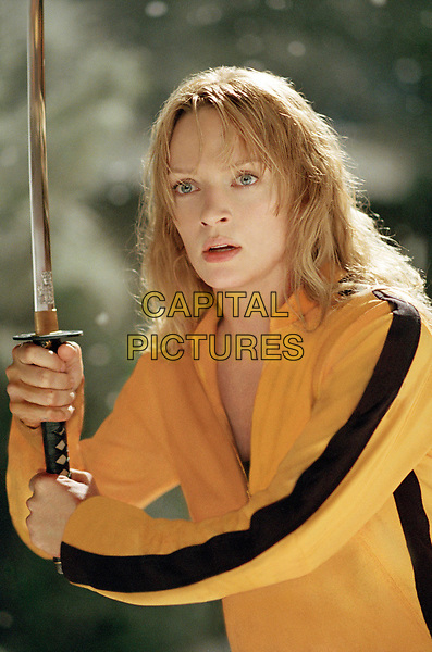 Kill Bill: Vol. 1 (2003) <br /> Uma Thurman<br /> *Filmstill - Editorial Use Only*<br /> CAP/KFS<br /> Image supplied by Capital Pictures