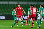 Johannes Eggestein (Werder Bremen #24)<br /> Kai Havertz (Leverkusen #29),  <br /> Kerem Demirbay (Leverkusen #10), <br /> <br /> <br /> Sport: Fussball: 1. Bundesliga: Saison 19/20: <br /> 26. Spieltag: SV Werder Bremen vs Bayer 04 Leverkusen, 18.05.2020<br /> <br /> Foto ©  gumzmedia / Nordphoto / Andreas Gumz / POOL <br /> <br /> Nur für journalistische Zwecke! Only for editorial use!<br />  DFL regulations prohibit any use of photographs as image sequences and/or quasi-video.