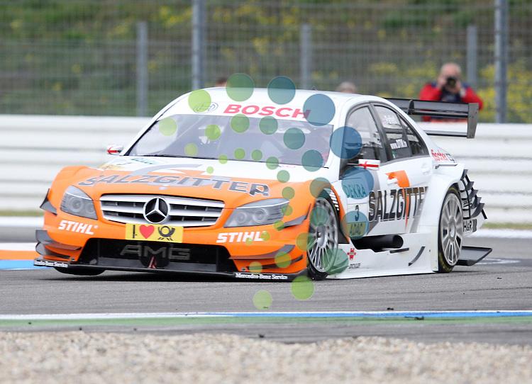 DTM 2010,09.Lauf Hockenheimring,15.-17.10.10.Gary Paffett (GB#3) Salzgitter AMG Mercedes.Picture: Hasan Bratic/Universal News Sport (Europe) 15 October 2010.