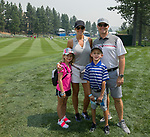 The Jefferson family from Fresno during the Barracuda Golf Championship at Montreaux on Saturday, August 4, 2018.