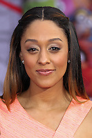 "HOLLYWOOD, LOS ANGELES, CA, USA - MARCH 11: Tia Mowry at the World Premiere Of Disney's ""Muppets Most Wanted"" held at the El Capitan Theatre on March 11, 2014 in Hollywood, Los Angeles, California, United States. (Photo by Xavier Collin/Celebrity Monitor)"