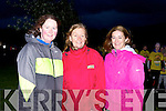 Kerry's Eye Breda Joy with her friends Mary Corkery right and (check) after they completed the Darkness into Light 5km in aid of Pieta House in Killarney on Saturday morning