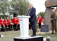 31 July 2017 - Ypres, Belgium - Prince Charles, Prince of Wales at the Welsh National Service of Remembrance at the Welsh National Memorial Park to mark the centenary of Passchendaele in Ypres, Belgium. Photo Credit: Alpha Press/AdMedia