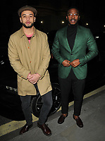 Calvin Demba and Zackary Momoh at the GQ Car Awards 2018, Corinthia Hotel, Whitehall Place, London, England, UK, on Monday 05 February 2018.<br /> CAP/CAN<br /> &copy;CAN/Capital Pictures