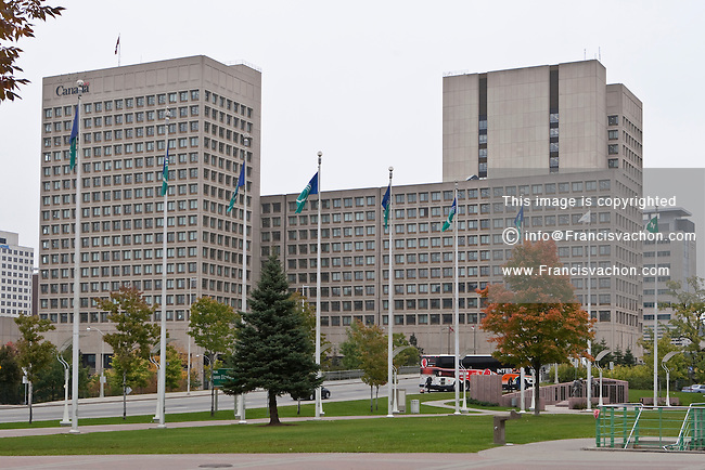 Canada National Defence Headquarters (NDHQ) is seen in Ottawa Monday September 27, 2010. Hosted in the Major-General George R. Pearkes Building, the National Defence Headquarters (NDHQ) is the headquarters for Canada's Department of National Defence (DND) and the Canadian Forces.