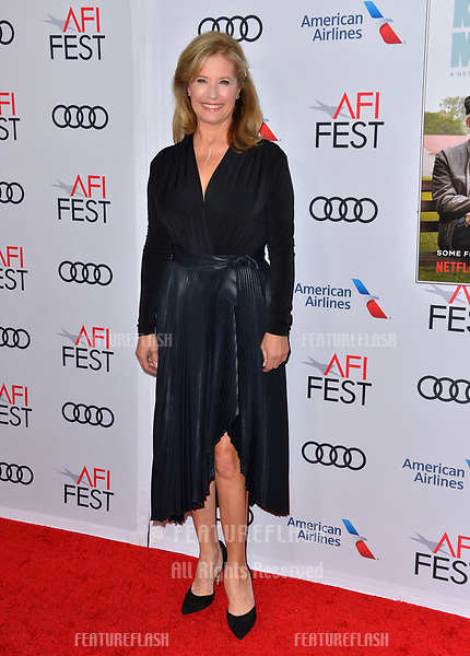 "LOS ANGELES, CA. November 10, 2018: Nancy Travis at the AFI Fest 2018 world premiere of ""The Kominsky Method"" at the TCL Chinese Theatre.<br /> Picture: Paul Smith/Featureflash"