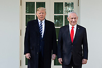 Donald Trump Participates in Arrival Ceremony for Prime Minister of the State of Israel