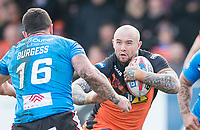 Picture by Allan McKenzie/SWpix.com - 11/03/2018 - Rugby League - Betfred Super League - Castleford Tigers v Salford Red Devils - the Mend A Hose Jungle, Castleford, England - Nathan Massey.