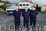 The Tralee branch of the Civil Defence launch their recruitment drive at their offices in Tralee on Tuesday.<br /> L to r: Tom Brosnan (Civil Defence Officer), Alan Hanafin (Ass Civil Defence Officer) and James Kissane (Assistant Leader).