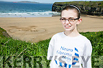 Shannon Brady has neurofibromatosis, a rare neurological condition caused by a single gene mutation that sees tumours grow along various types of nerves, with her family  was in Ballybunion on Tuesday to support Children with Tumours Ireland Neurofibromatosis awareness day