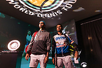 Rotterdam, The Netherlands, 16 Februari 2019, ABNAMRO World Tennis Tournament, Ahoy, semis, doubles, Jean-Julien Rojer (NED) / Horia Tecau (ROU) <br /> Photo: www.tennisimages.com/Henk Koster