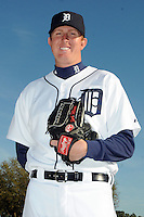 Feb 21, 2009; Lakeland, FL, USA; The Detroit Tigers pitcher Zach Miner (31) during photoday at Tigertown. Mandatory Credit: Tomasso De Rosa/ Four Seam Images