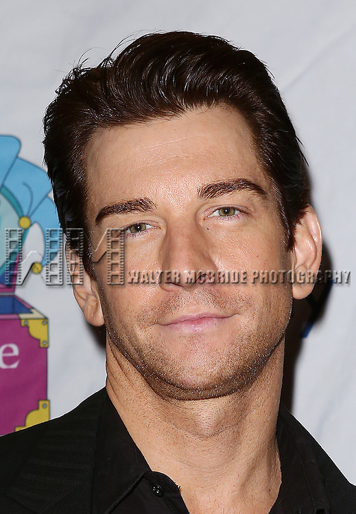 Andy Karl attends the 14th Annual 'Only Make Believe' Gala at the Bernard B. Jacobs Theatre on November 4, 2013  in New York City.