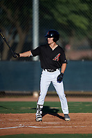 AZL D-backs Corbin Carroll (2) at bat during an Arizona League game against the AZL Mariners on July 3, 2019 at Salt River Fields at Talking Stick in Scottsdale, Arizona. The AZL D-backs defeated the AZL Mariners 3-1. (Zachary Lucy/Four Seam Images)