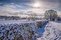 Snow, Whitewell Lancashire.