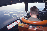 - antisubmarine P3 Orion aircraft of the US Navy in flight<br /> <br /> - aereo antisommergibili P3 Orion dell' US Navy in volo
