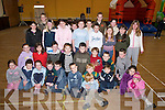 MEDALS: Young walkers who were presented with medals at Ballyheigue Community Centre on Sunday. They were Sarah Healy, Thomas Healy, Ciara Reidy, Brendan Walsh, David Fitzell, Wesley Mosk, Evan and Vince Casey, Shauna and Melanie Dineen Higgins, Ella Horgan, Katie Cashman, Matthew McCrohan, Czara Casey, David Rice, Christopher Heffernan, Kevin Mosk, Brendan Reidy, Sarah Corridon, Emma O'Connor, Karen Harty, Mark Dineen, Aoife O'Mahony, Yvonne Rice, Micheal  Reidy, Owen Lucid, Niamh Barry, Debra Barry and Ray Dineen..