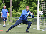 Tim Howard on Saturday, May 20th, 2006 at SAS Soccer Park in Cary, North Carolina. The United States Men's National Soccer Team held a training session as part of their preparations for the upcoming 2006 FIFA World Cup Finals being held in Germany.
