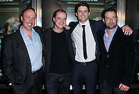 "HOLLYWOOD, LOS ANGELES, CA, USA - APRIL 03: Trevor Macy, Mike Flanagan, James Lafferty, Rory Cochrane at the Los Angeles Screening Of Relativity Media's ""Oculus"" held at TCL Chinese 6 Theatre on April 3, 2014 in Hollywood, Los Angeles, California, United States. (Photo by Xavier Collin/Celebrity Monitor)"