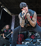 Attika 7  at Mayhem Fest 2013