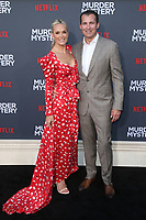 LOS ANGELES, CA - JUNE 10: Molly Sims and Scott Stuber at the Los Angeles Premiere Screening of Murder Mystery at Regency Village Theatre in Los Angeles, California on June 10, 2019. <br /> CAP/MPIFS<br /> ©MPIFS/Capital Pictures