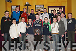Under 12s: At the Athea Coiste na nOg Social in The Gables, Athea, on Friday night were Athea Coiste na nOg Under 12 team..