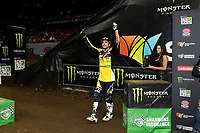 SX1 / Jason Anderson / 1st overall<br /> Monster Energy Aus-XOpen<br /> Supercross &amp; FMX International<br /> Qudos Bank Arena, Olympic Park NSW<br /> Sydney AUS Sunday 12  November 2017. <br /> &copy; Sport the library / Jeff Crow