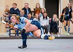 DELFT -  Mila Muyselaar (Lar) tijdens de zaalhockey competitiewedstrijd Laren-Nijmegen. COPYRIGHT KOEN SUYK