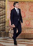 Spanish legend of cycling Pedro Delgado during the reception of King Felipe VI of Spain at the Royal Palace in honor of the President of the French Republic Emmanuel Macron. July 26,2018. (ALTERPHOTOS/Acero)