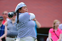 Christina Kim (USA) watches her tee shot on 10 during Friday's round 2 of the 2017 KPMG Women's PGA Championship, at Olympia Fields Country Club, Olympia Fields, Illinois. 6/30/2017.<br /> Picture: Golffile | Ken Murray<br /> <br /> <br /> All photo usage must carry mandatory copyright credit (&copy; Golffile | Ken Murray)