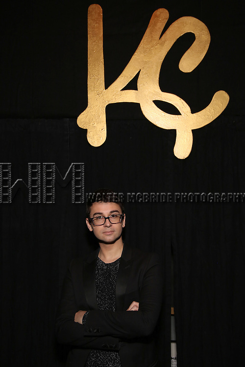 Christian Siriano during the Opening Night of Kristin Chenoweth - 'My Love Letter To Broadway'  at the Lunt-Fontanne Theatre on November 2, 2016 in New York City.