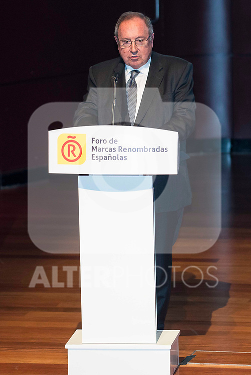Jose Luis Bonet during the delivery of the accreditations to the new ambassadors of the Marca España 2017 at Reina Sofia Museum in Madrid. March 14, 2017. (ALTERPHOTOS/Borja B.Hojas)