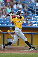 Lake County Captains outfielder Ty Morrison during a game vs. the Bowling Green Hot Rods at Classic Park in Eastlake, Ohio;  August 20, 2010.   Lake County defeated Bowling Green 5-3.  Photo By Mike Janes/Four Seam Images