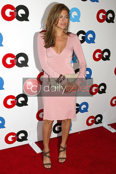 """Eva Mendes<br />at the GQ Magazine's 10th Anniversary """"Men of the Year"""" Issue Release Party, Mr. Chow's, Beverly Hills, CA 12-01-05<br />Jason Kirk/DailyCeleb.com 818-249-4998"""