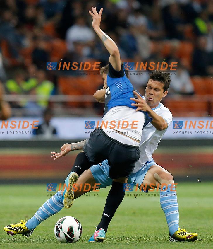 """Hernanes Lazio, Milano 8/5/2013 .Stadio """"S.Siro"""".Football Calcio 2012/2013 Serie A.Inter Vs Lazio.Foto Marco Bertorello Insidefoto"""