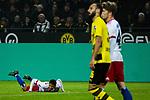10.02.2018, Signal Iduna Park, Dortmund, GER, 1.FBL, Borussia Dortmund vs Hamburger SV, <br /> <br /> im Bild | picture shows:<br /> Foul an Douglas Santos (Hamburger SV #6), <br /> <br /> <br /> Foto &copy; nordphoto / Rauch