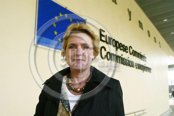 BRUSSELS - BELGIUM - 05 APRIL 2005 --(Ir?ne) Irene SVENSSON, Senior Vice President responsible for Saab establishment in Brussels.--  PHOTO: ERIK LUNTANG / EUP-IMAGES.