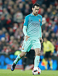 FC Barcelona's Sergio Busquets during Spanish Kings Cup match. January 05,2017. (ALTERPHOTOS/Acero)